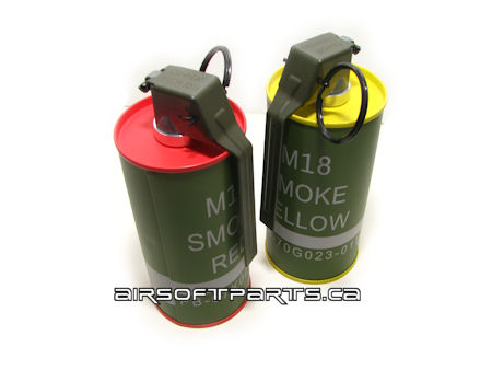 Smoke grenade BB cans safe for import? - Airsoft Canada