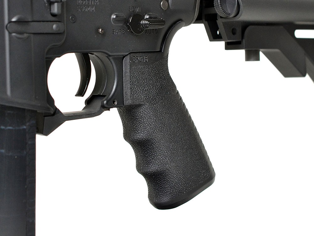 Mad Bull MFT ENGAGE Pistol Grip 16 M4 AEG Black - Click Image to Close